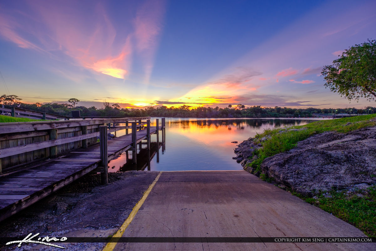 St Lucie Lock and Dam Boat Ramp
