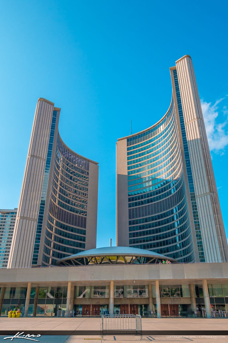 Toronto Canada Ontario Downtown City Hall Architecture