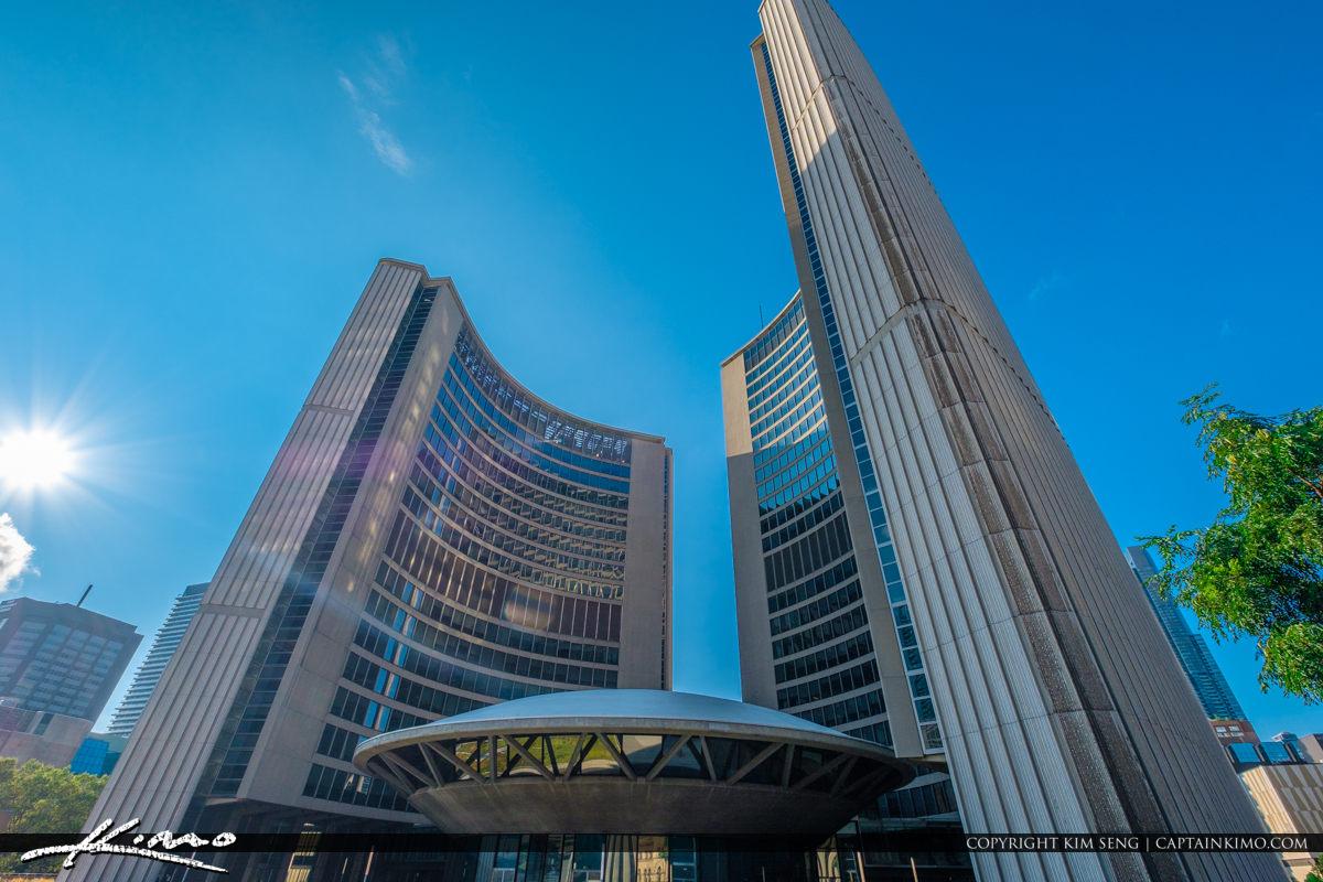 Toronto Canada Ontario UFO at City Gall
