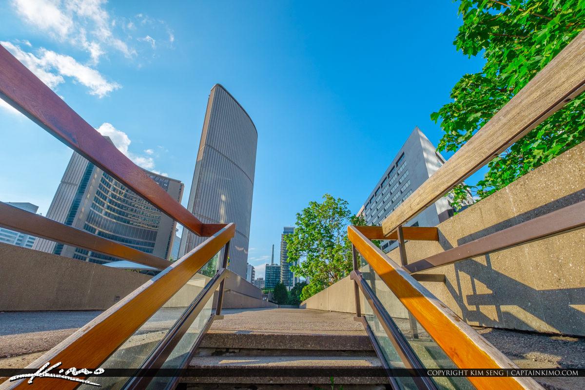 Toronto Canada Ontario Stairs to City Hall