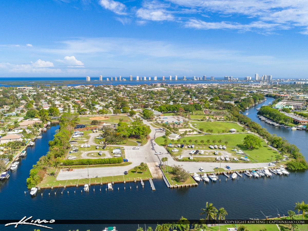 Anchorage Park Marina Waterway North Palm Beach Florida
