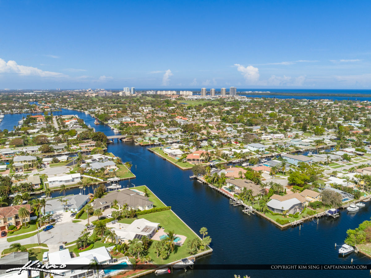 Waterfront Property Anchorage Park North Palm Beach Florida