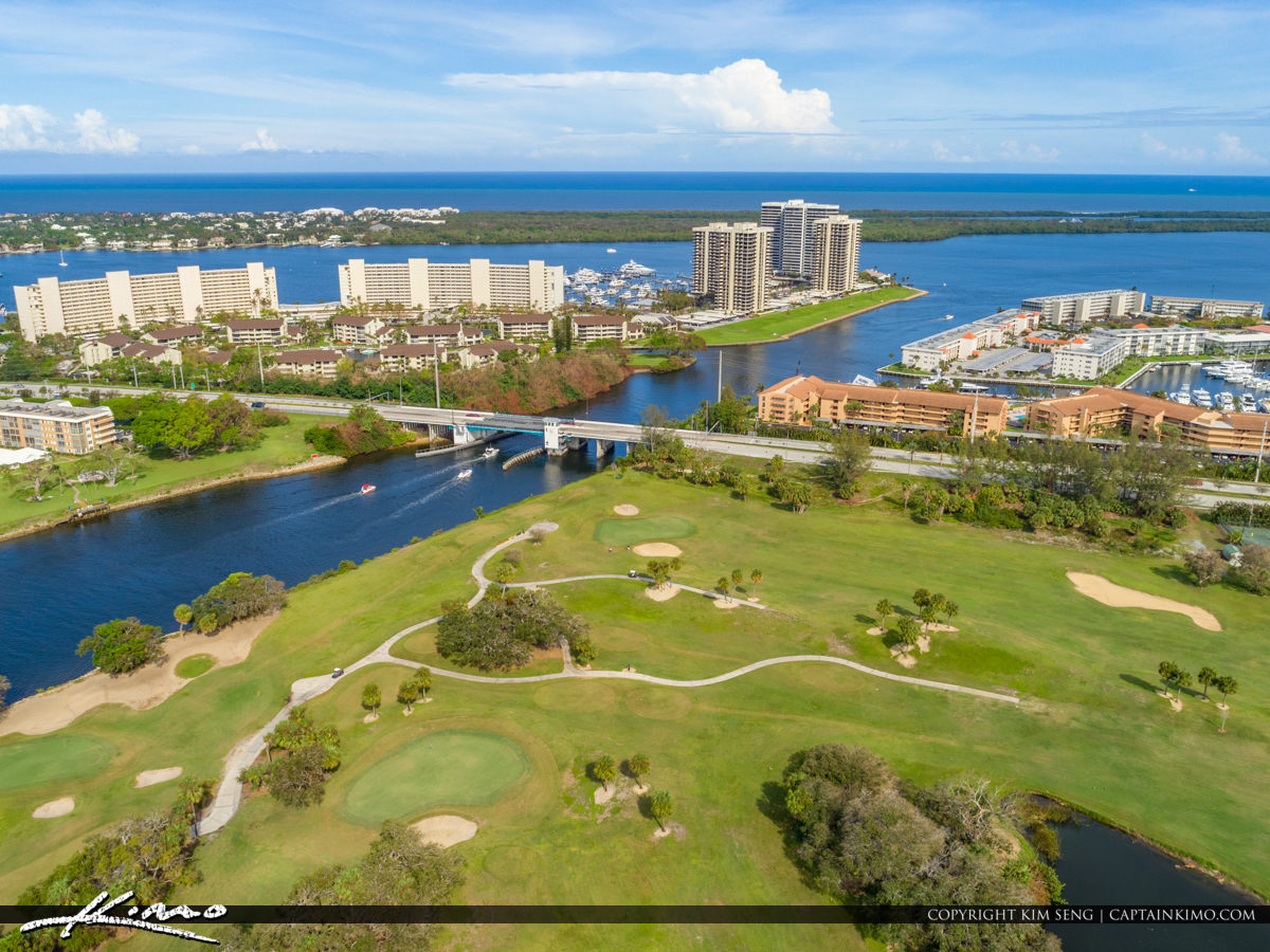 North Palm Beach Country Club Along the Waterway Florida