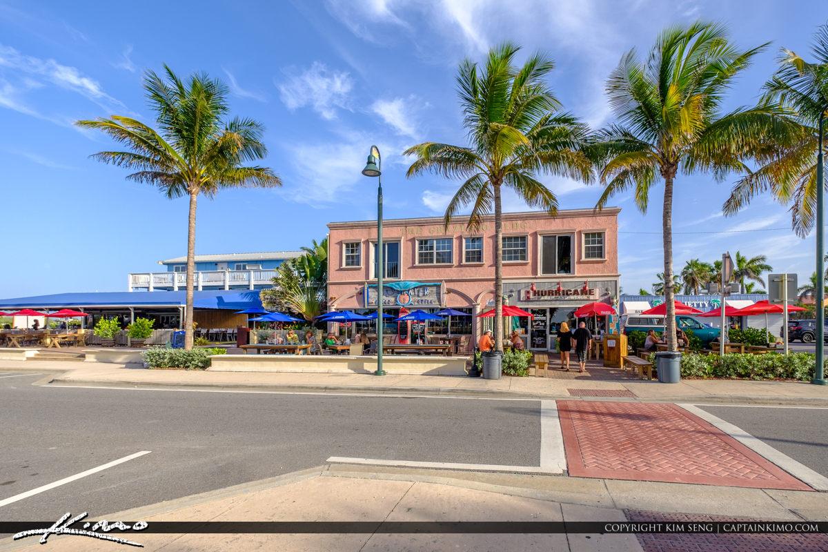 Restaurant at Beach Jetty Park Fort Pierce Florida