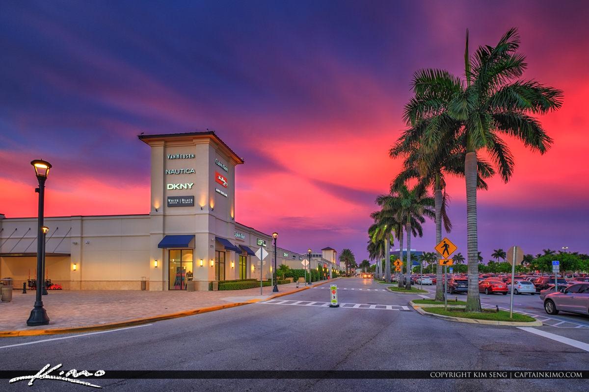 Palm Beach Oulet Mall West Palm Beach Florida