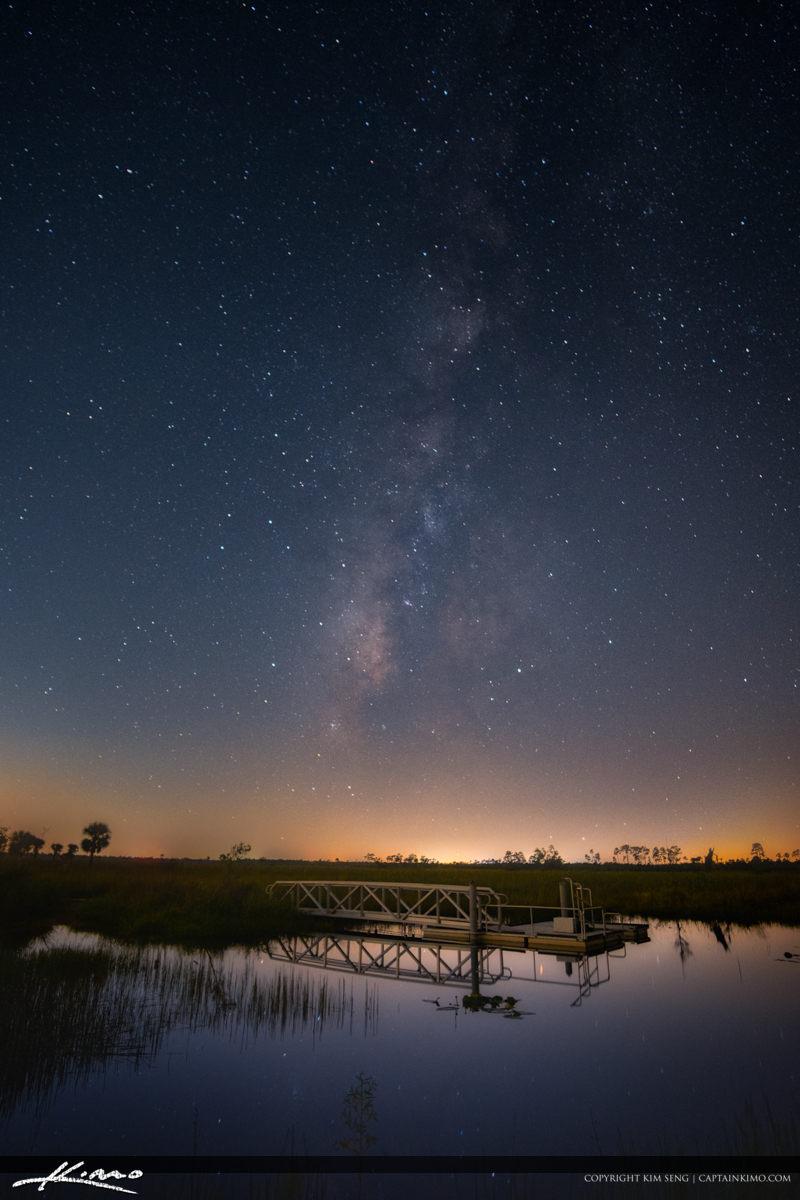 Milkyway Galaxy Pine Glades Natural Area Jupiter Florida