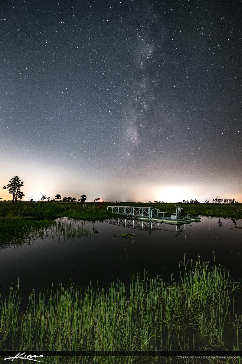 Pine Glades Wetlands Milkyway Jupiter Farms Florida Vertical