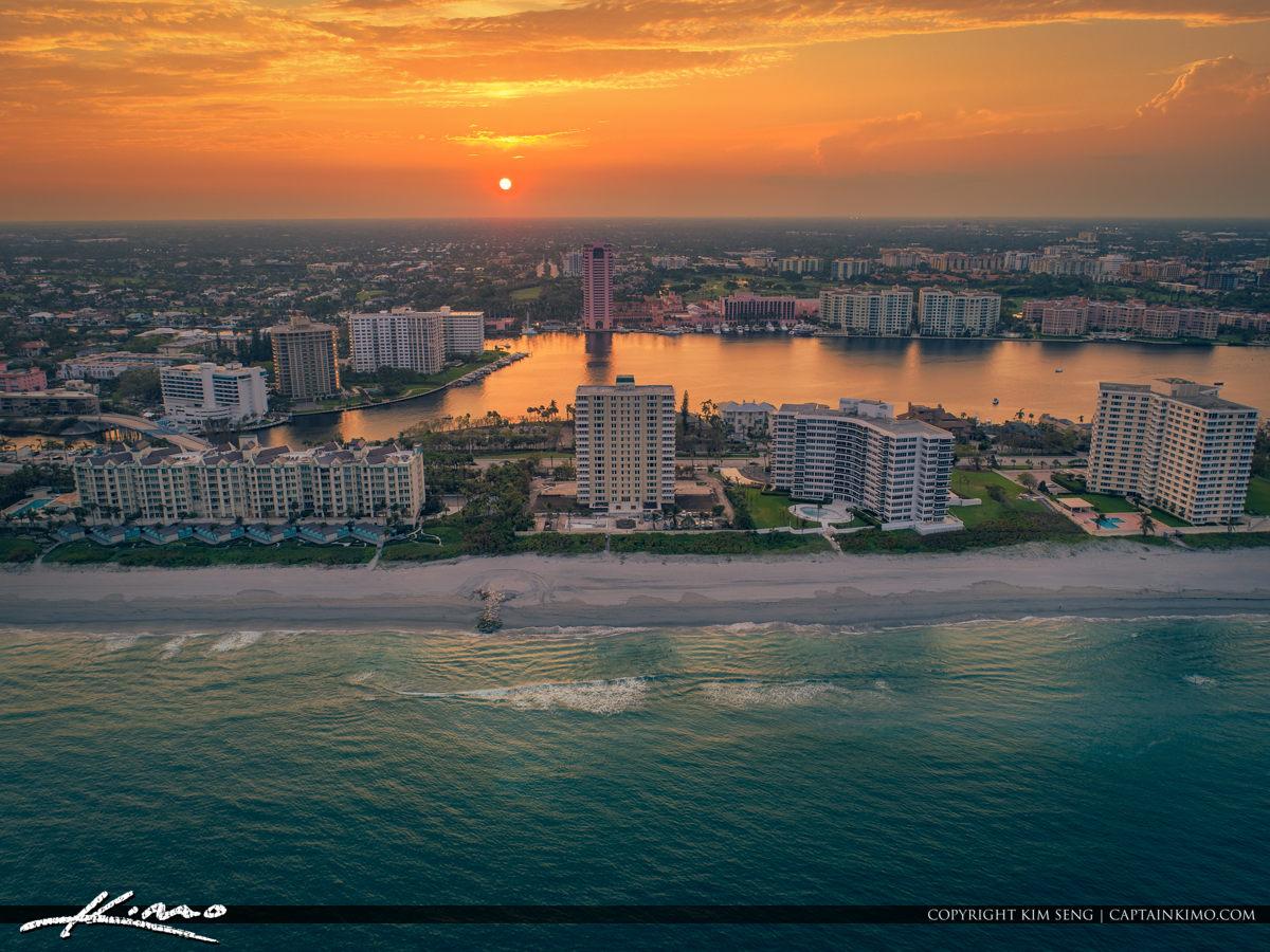 Oceanfront Property Sunset Boca Raton Florida