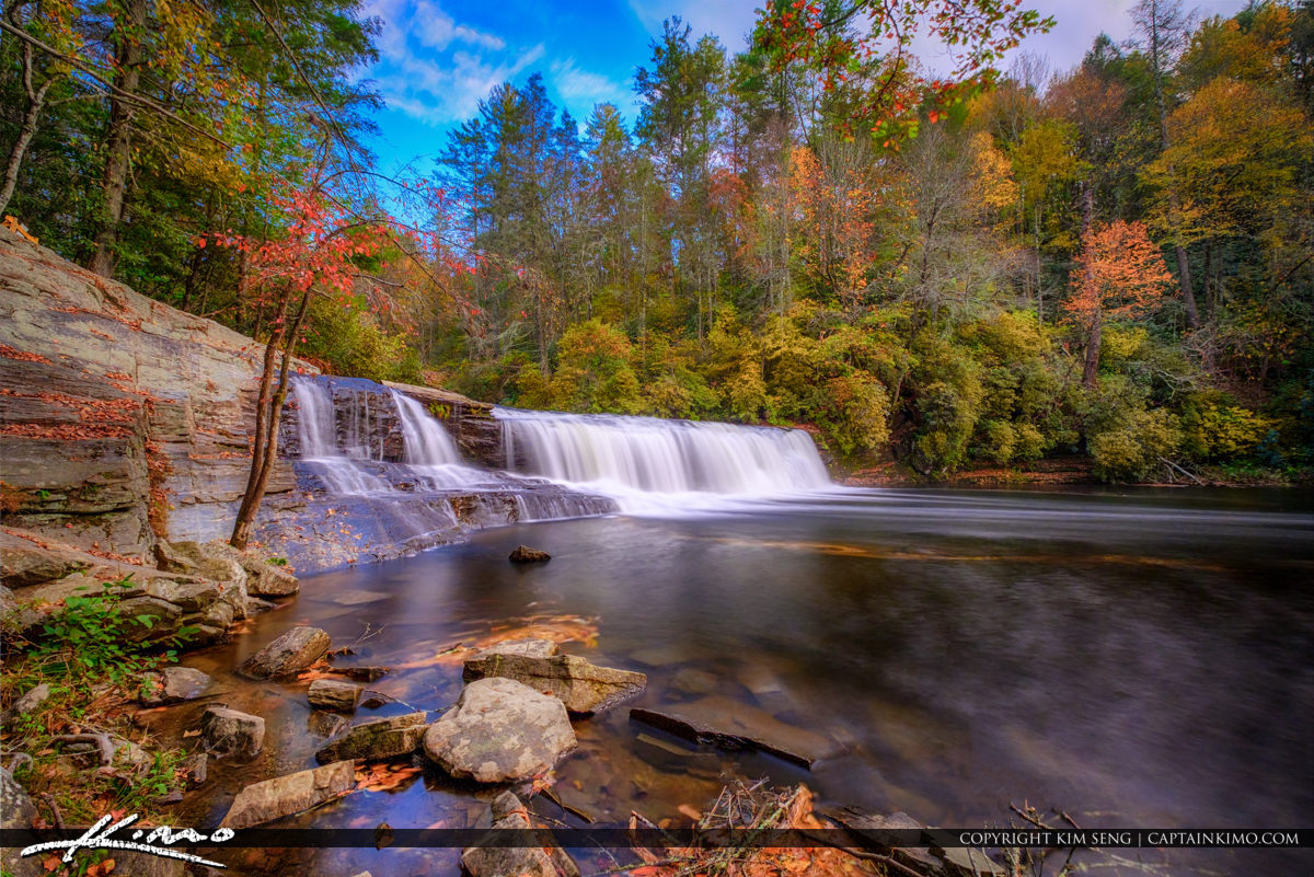 Hooker Falls Dupont Forest North Carolina