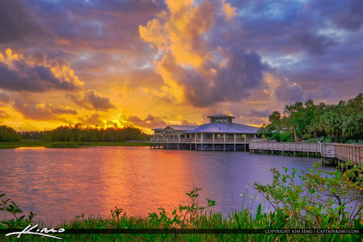 Sunrise Green Cay Nature Center Boynton Beach Florida