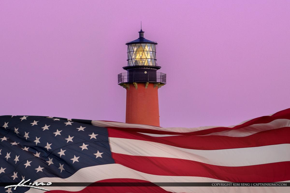 Veterans Day 2017 Novemeber 11 Jupiter Florida USA Flag