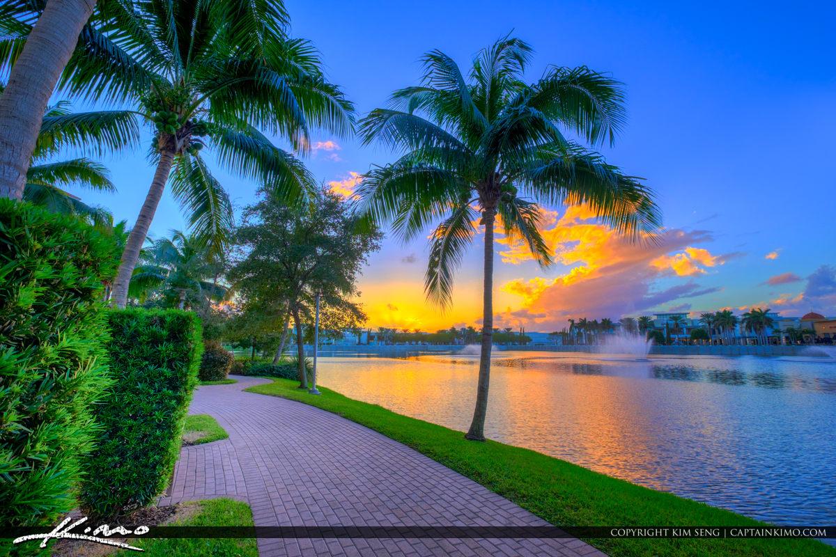 Hilton Downtown Gardens Sunset View