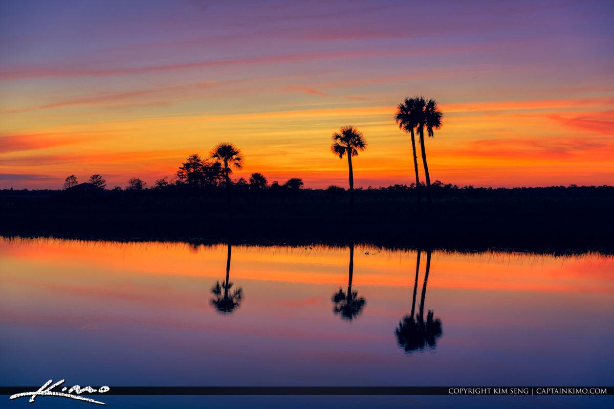 Jupiter Farms Out West Pine Glades Sunset