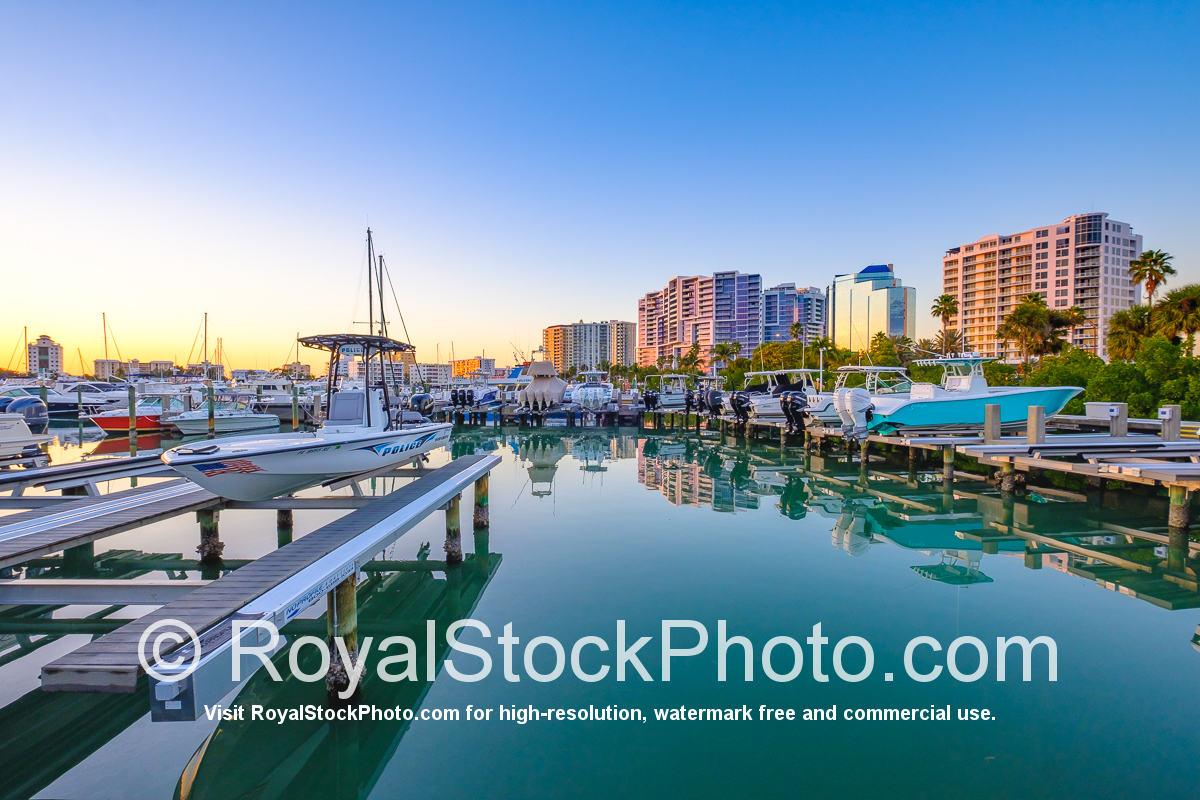 Sarasota Bayfront Police Boat