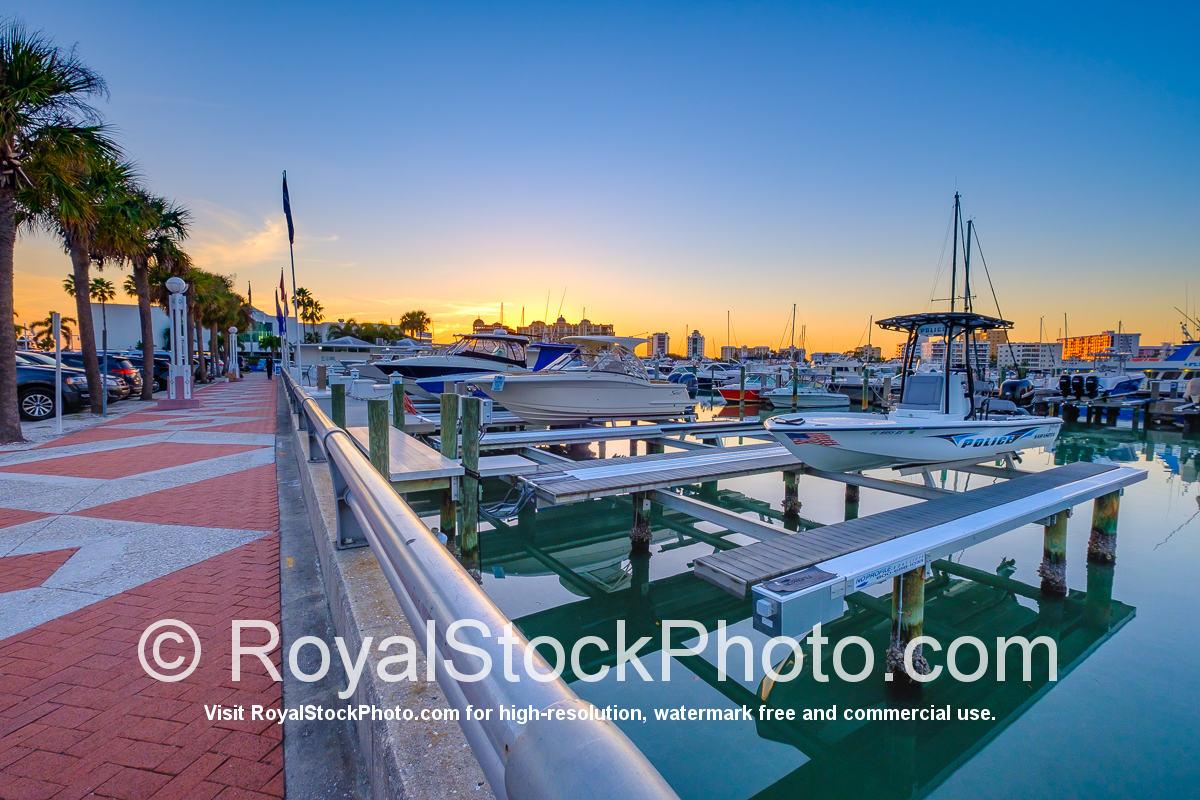 Sarasota Bayfront Police Boat the Marina