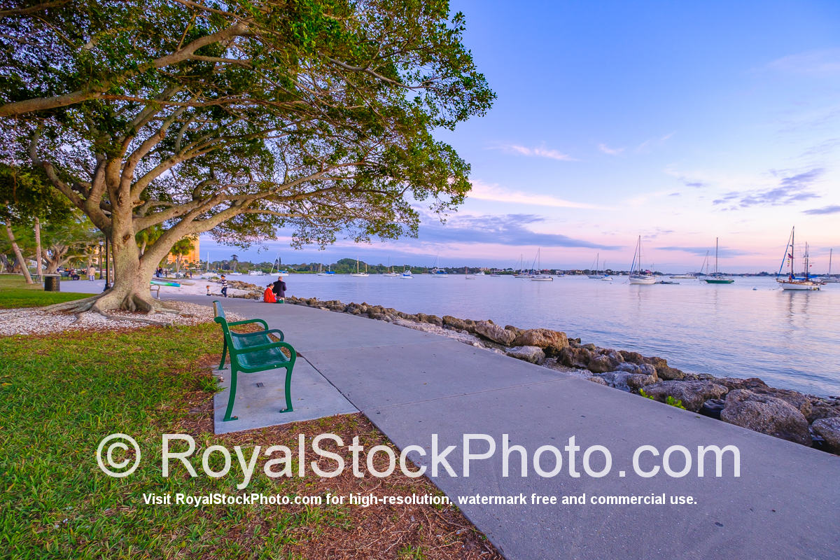 Sarasota Bayfront Chair at the Bayfront Park