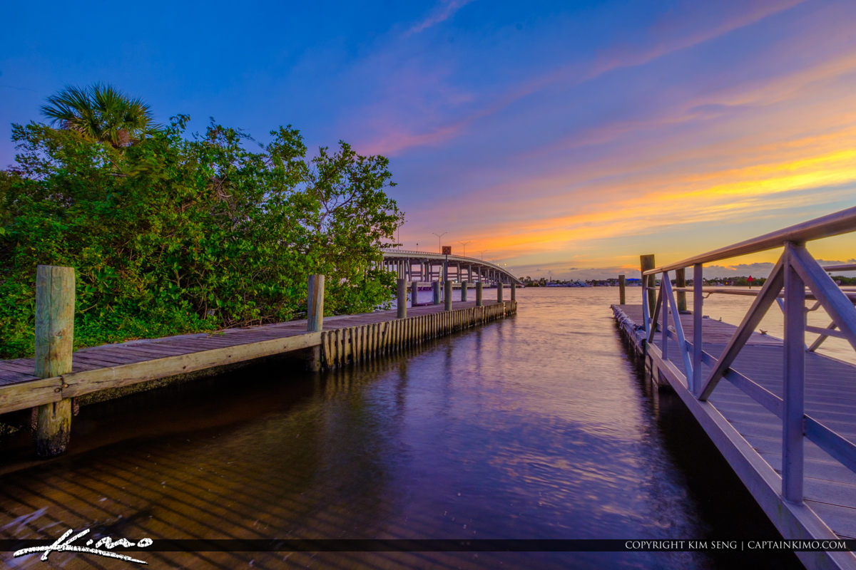 Boat Ramp Leighton Park Palm City Florida Martin County