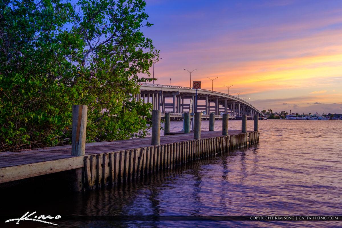 Bridge Leighton Park Palm City Florida Martin County
