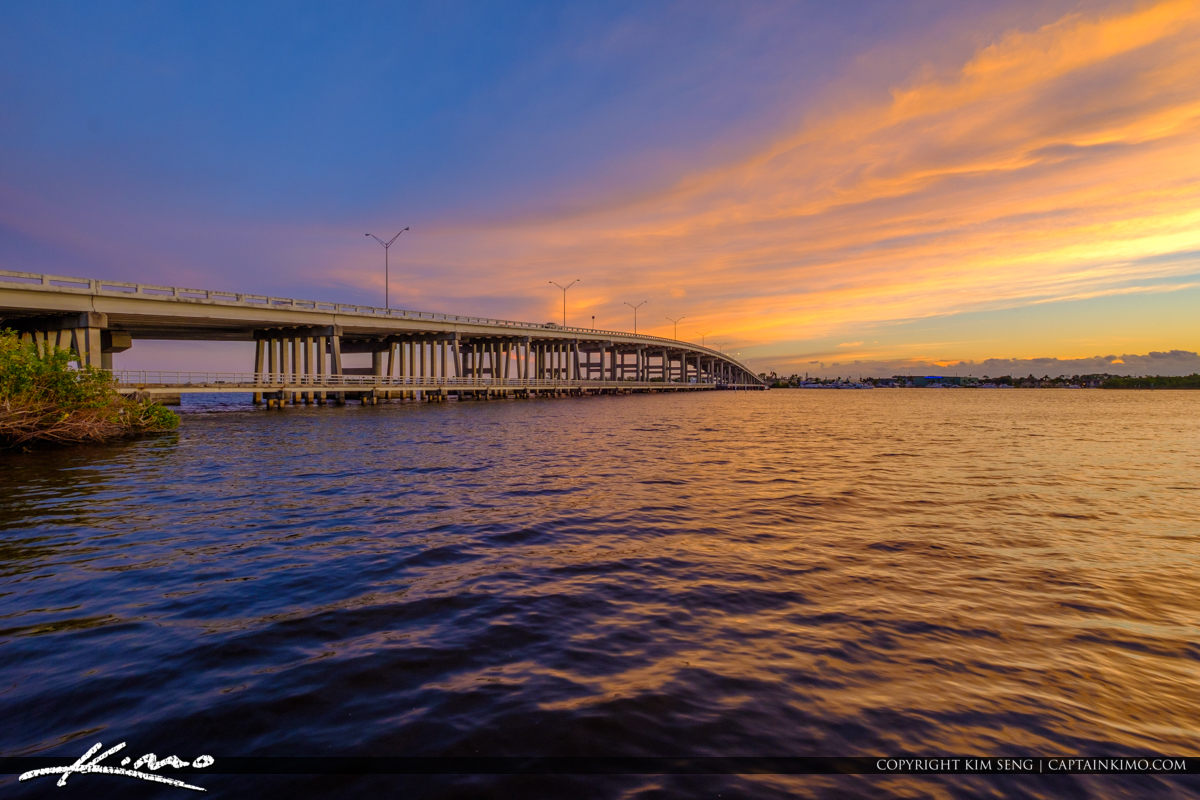 Monterey Bridge Leighton Park Palm City Florida Martin County