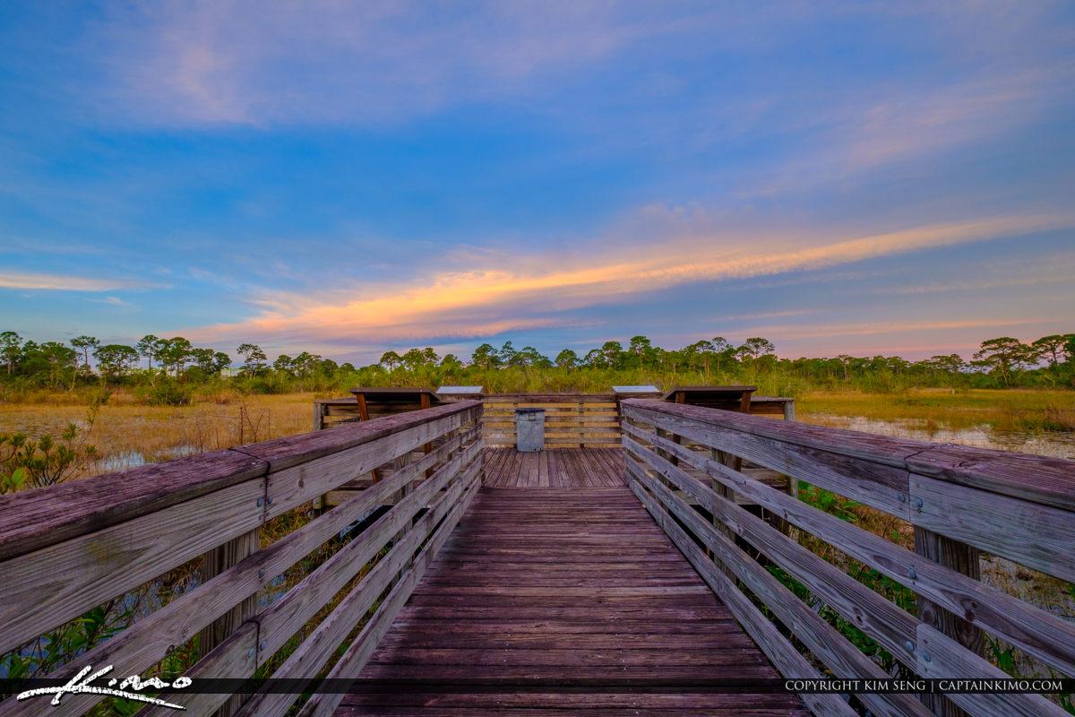 Justin Wilson Park Palm City Boardwalk Wetlands
