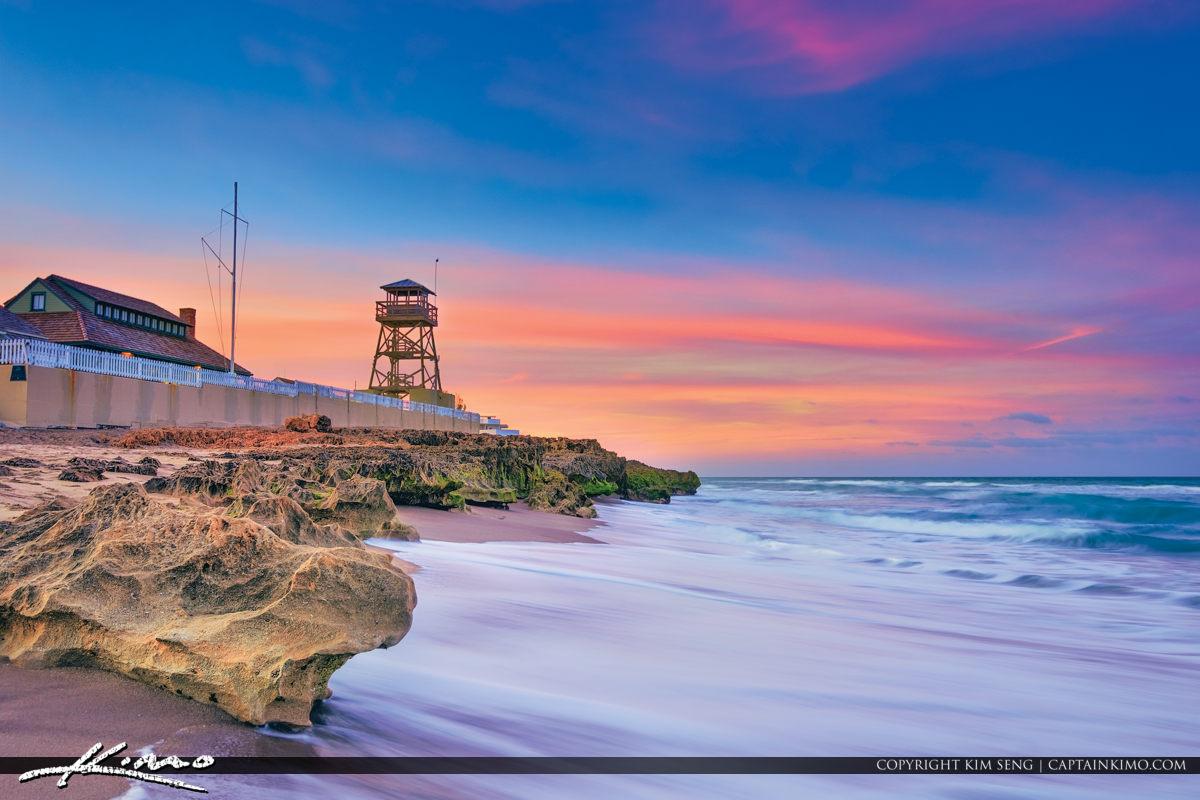 House of Refuge Northern Sky Colors Atlantic Ocean Stuart Florid