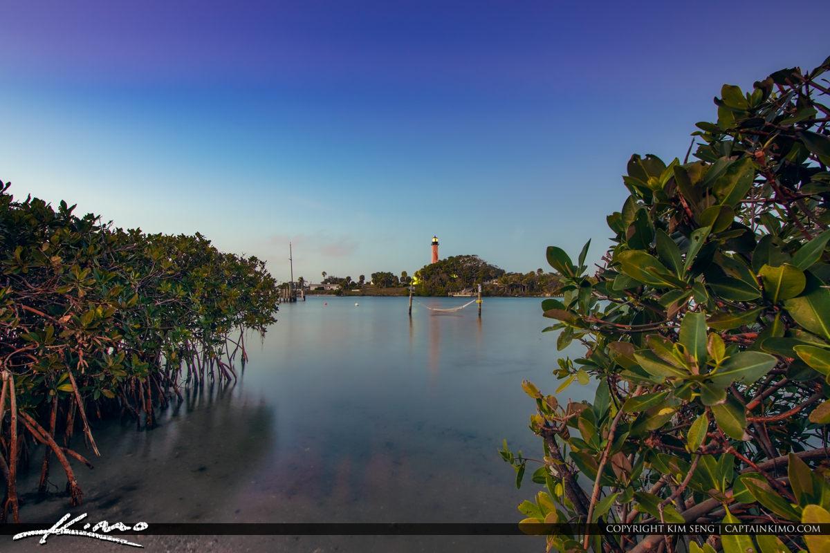 Jupiter Lighthouse Night Waterway Hammock