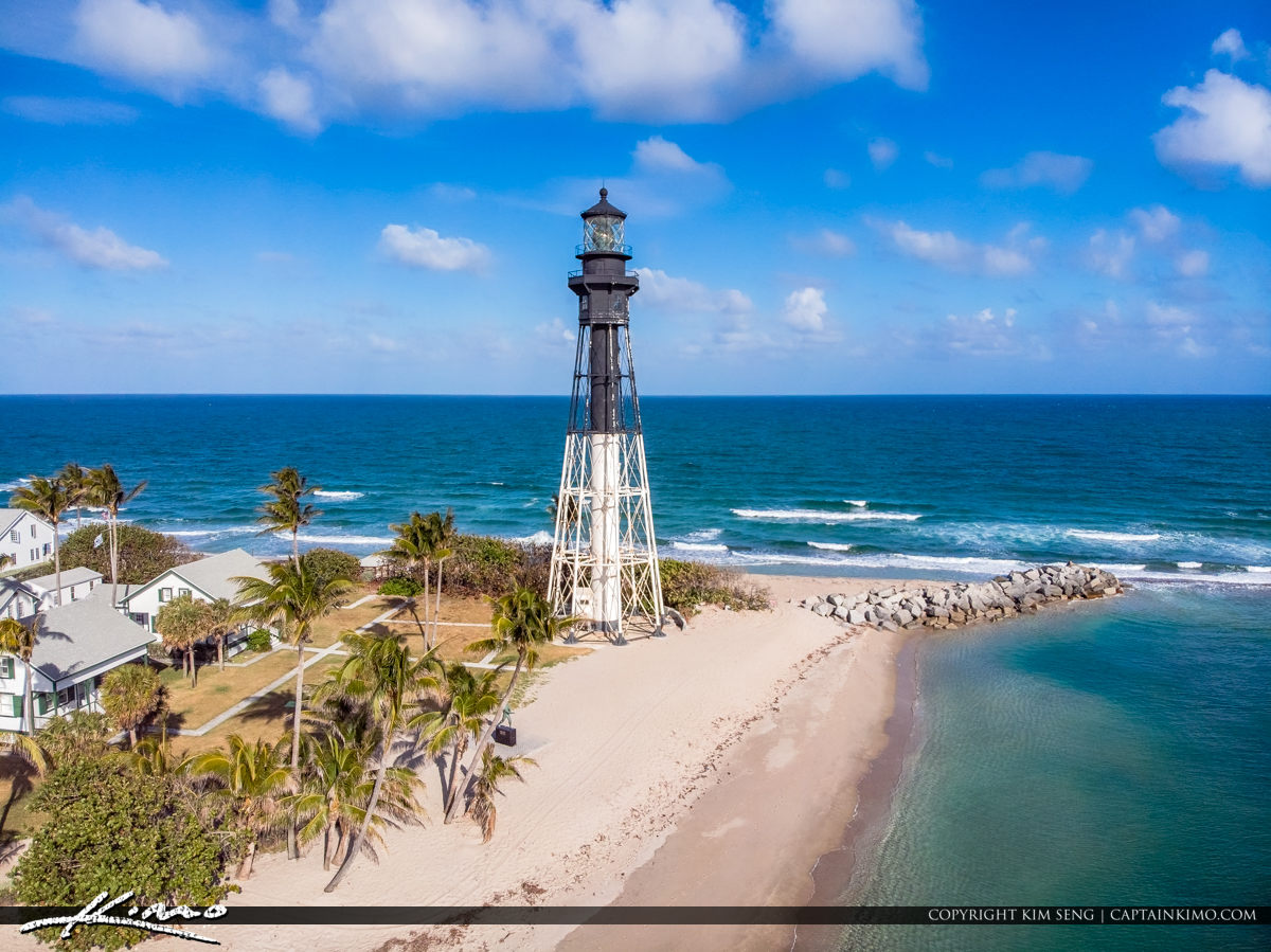 Pompano Beach Inlet Lighthouse Pompano Florida