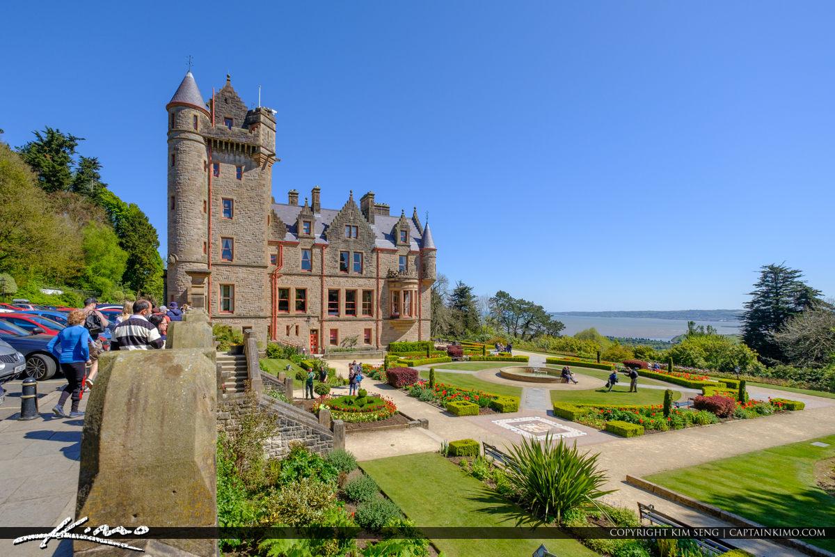 Belfast Castle Garden View Belfast Northern Ireland