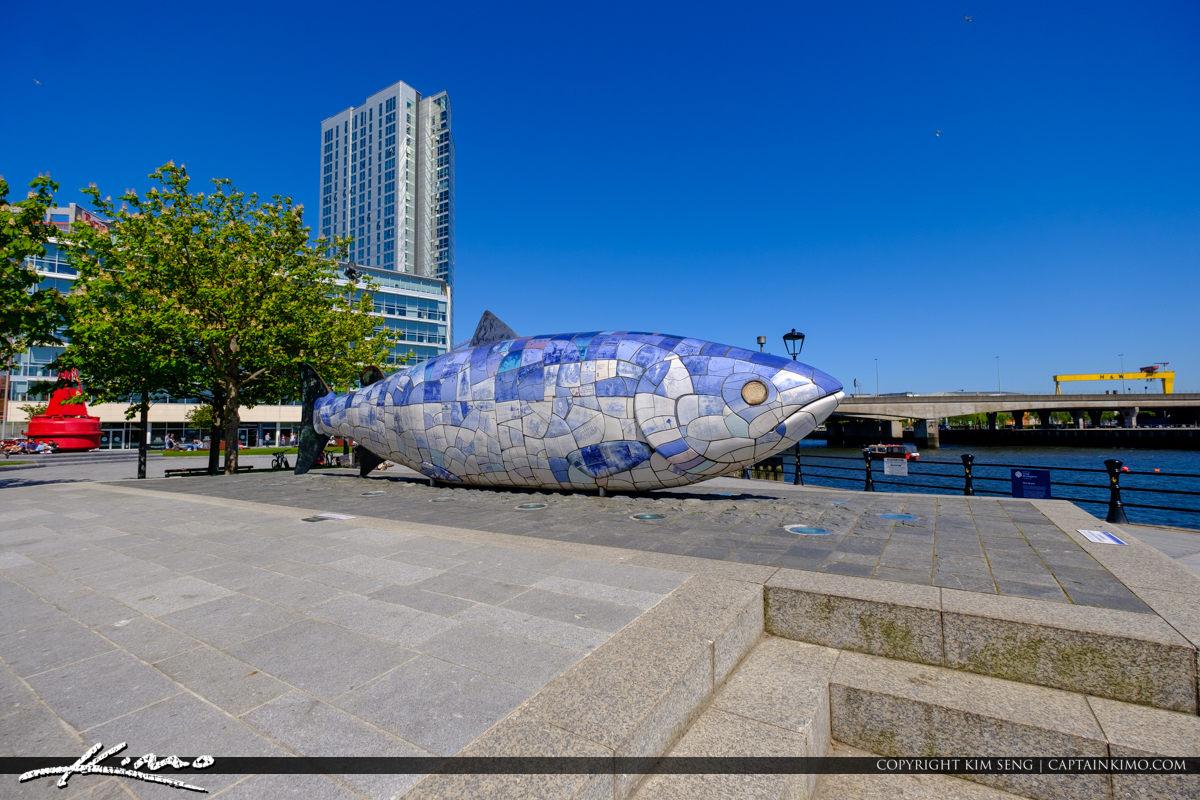 The Big Fish Salmon of Knowledge Belfast Northern Ireland