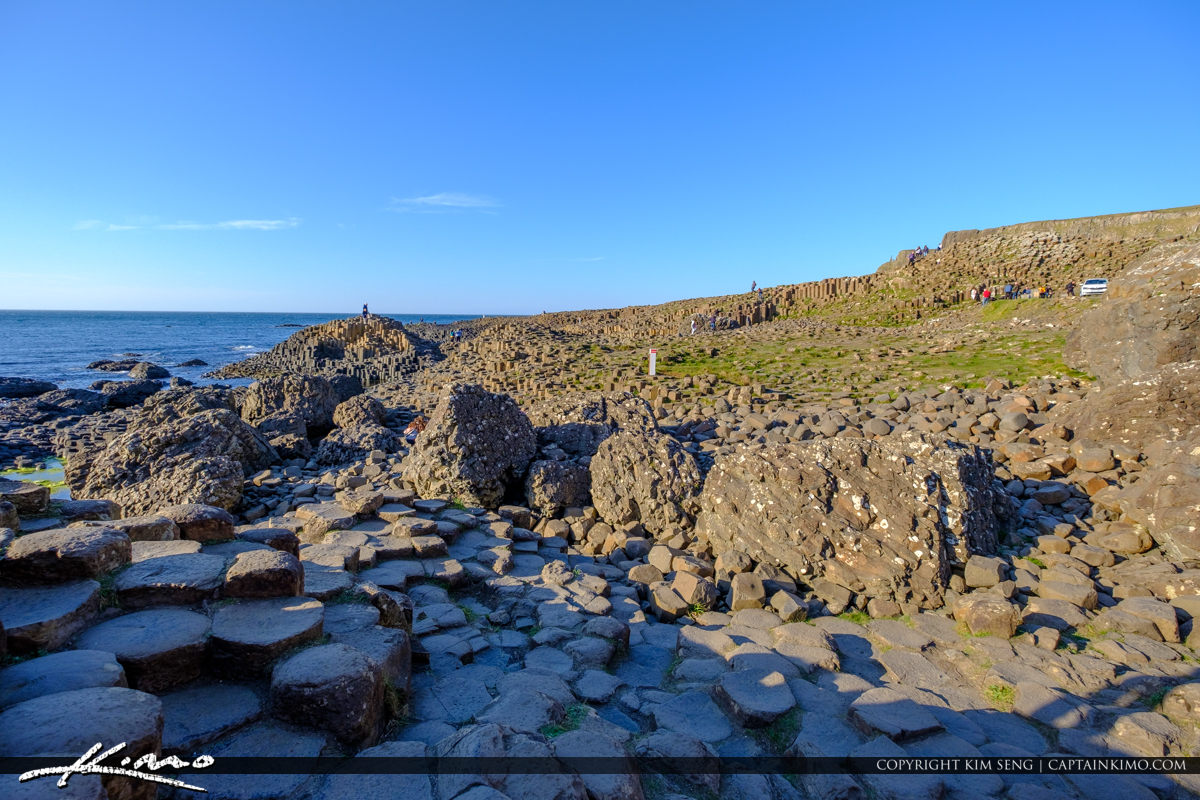 Wide View Giants Causeway Bushmills Northern Ireland
