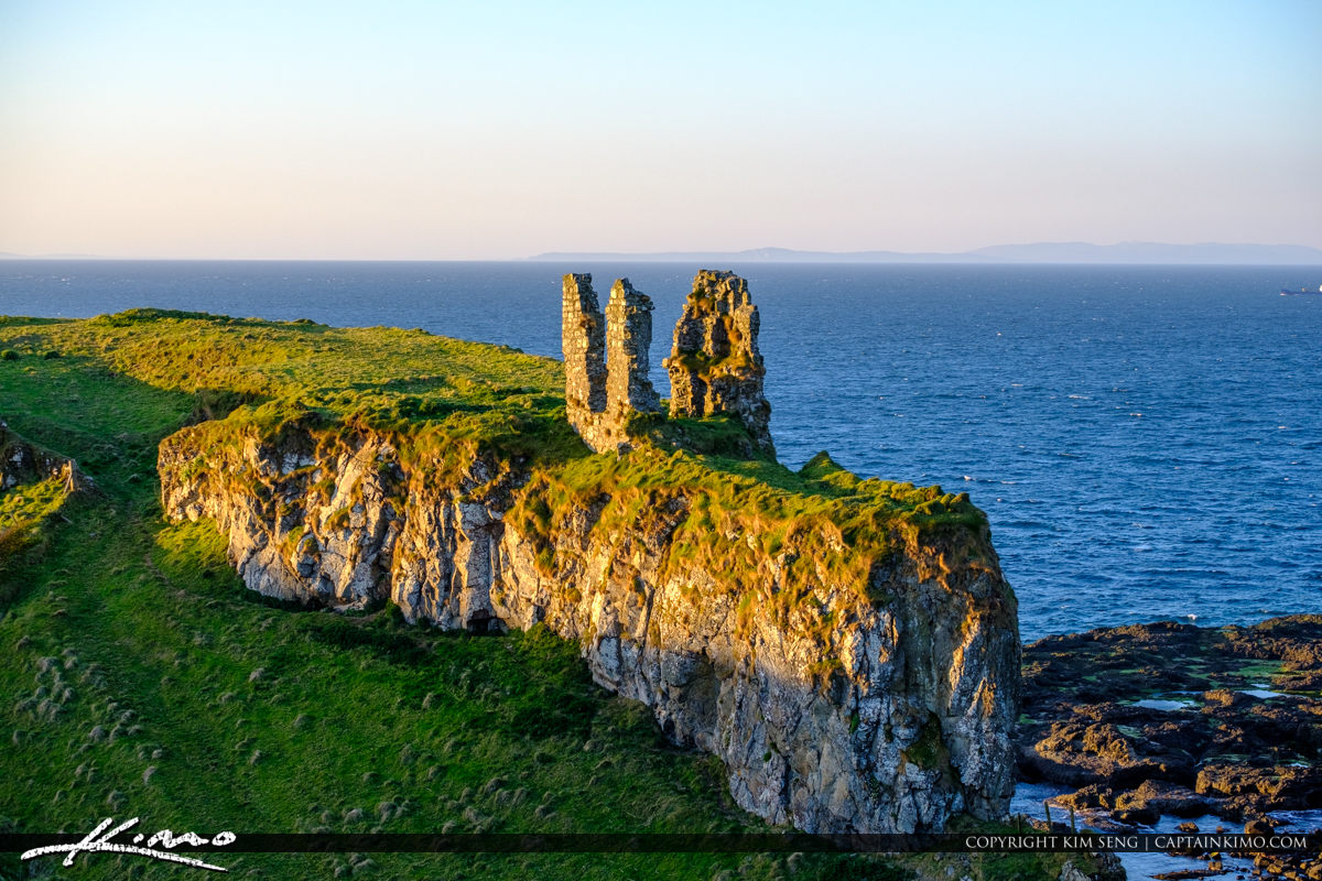 Dunseverick Castle Northern Ireland