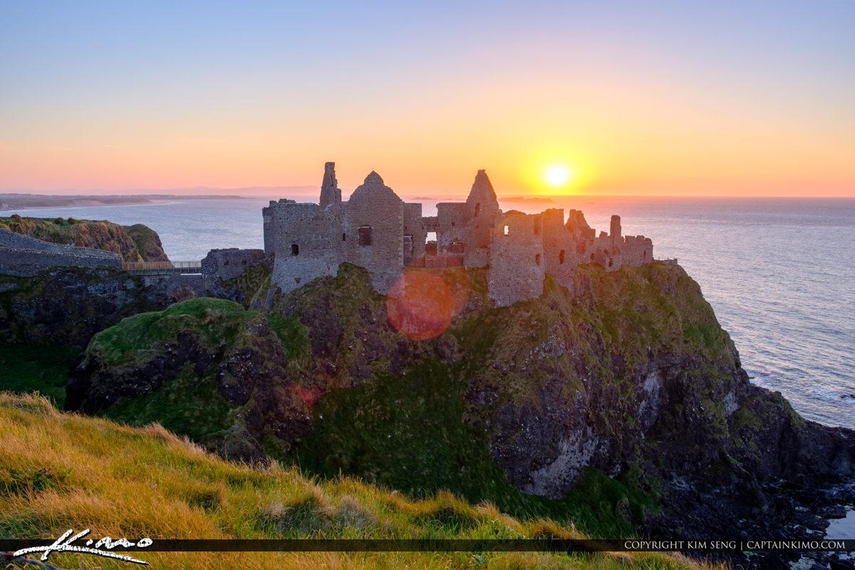 Dunluce Castle Northern Ireland Old Castle Ruins