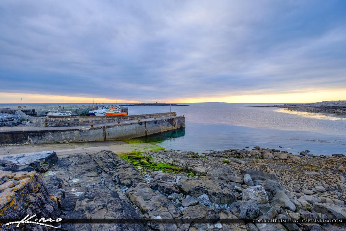 Island Ferry Doolin Ireland Boat Ramp