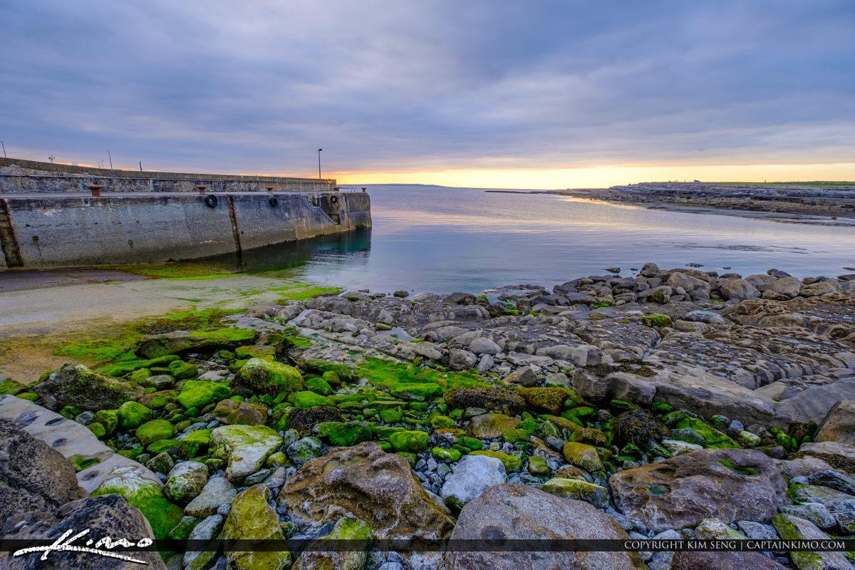 Island Ferry Doolin Ireland Green Rocks