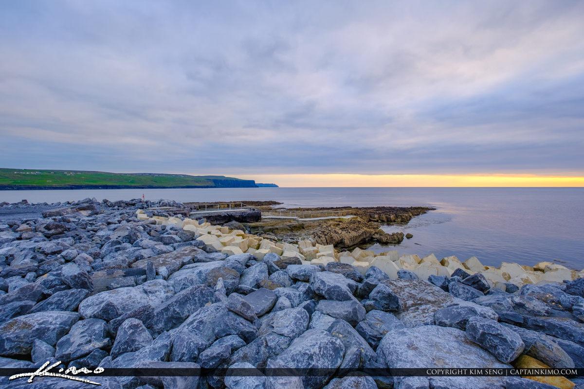 Island Ferry Doolin Ireland Rock Barries at Doolin