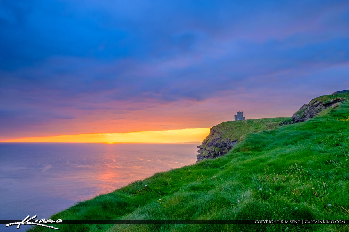 OBriens Tower Cliffs of Moher County Clare Ireland