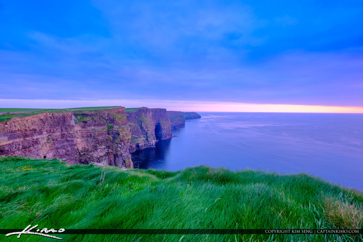 Cliffs of Moher County Clare Ireland at the Edge