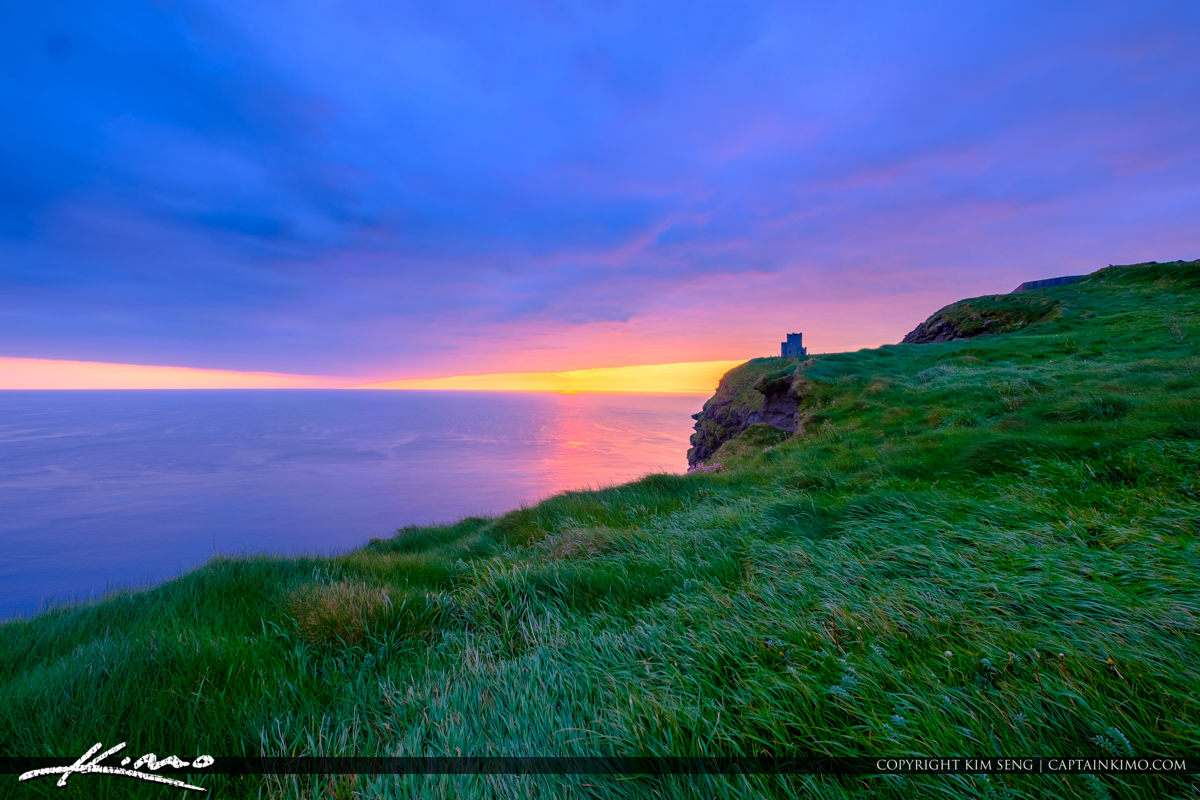 Cliffs of Moher County Clare Ireland Sunset