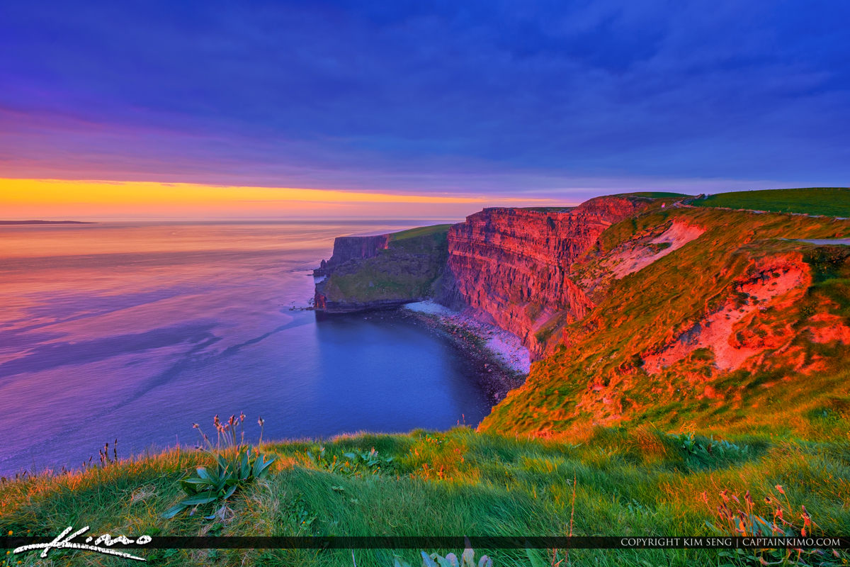 Gorgeous View Cliffs of Moher County Clare Ireland