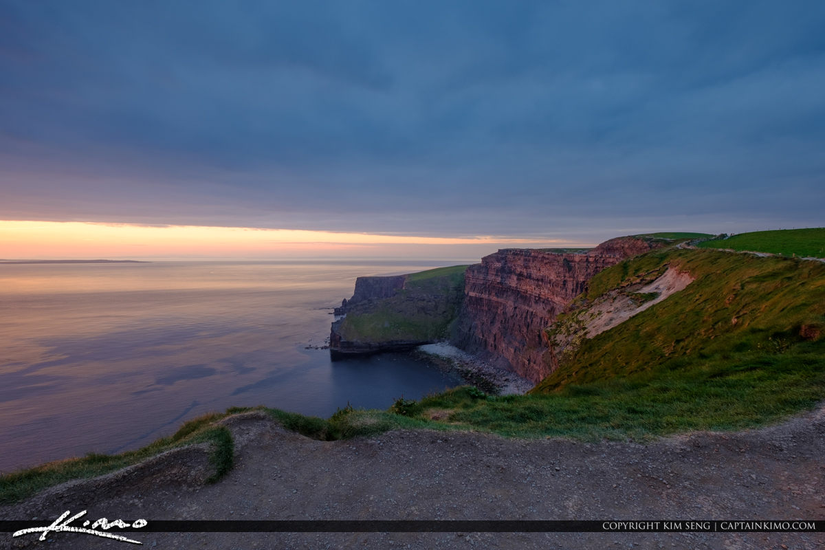 Walking Trail Cliffs of Moher County Clare Ireland