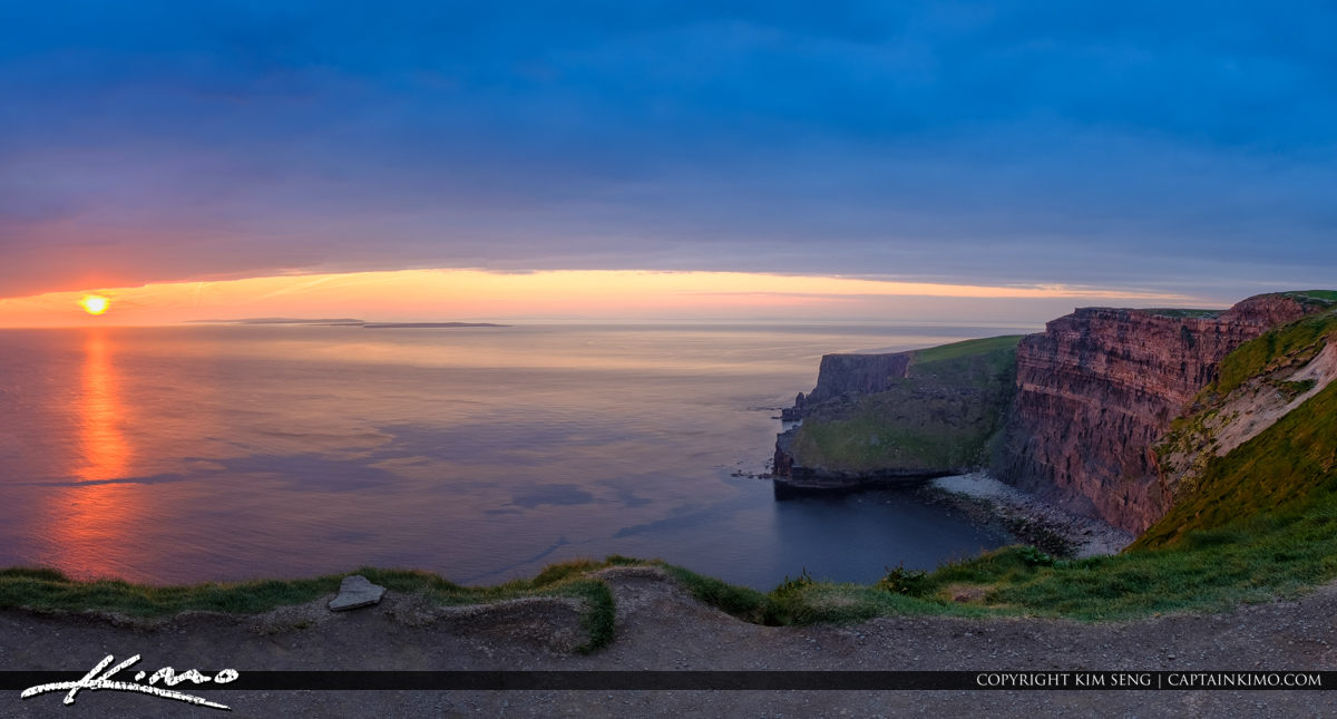 Panorama Cliffs of Moher County Clare Ireland