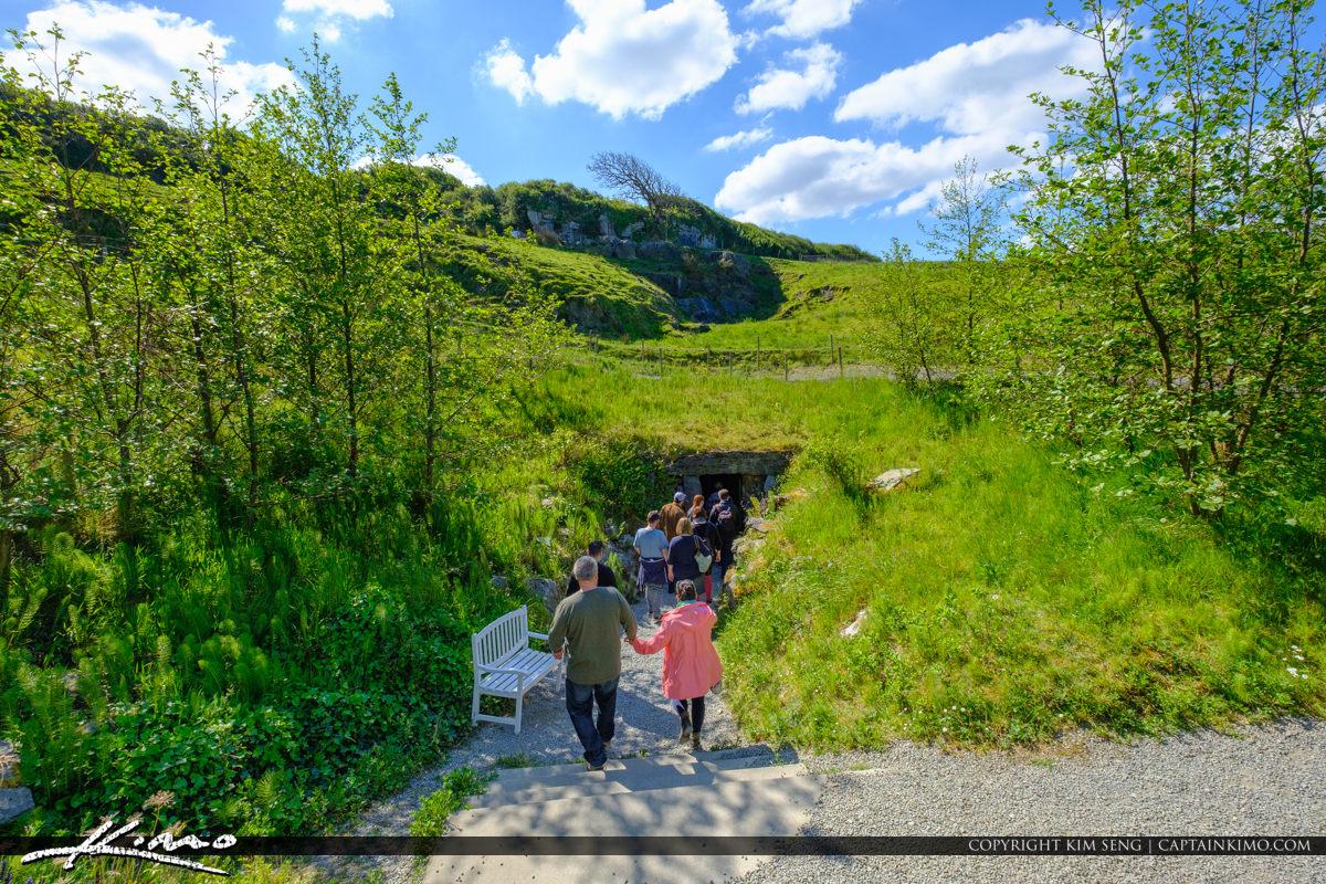 Tourist Entering Doolin Cave Doolin Ireland