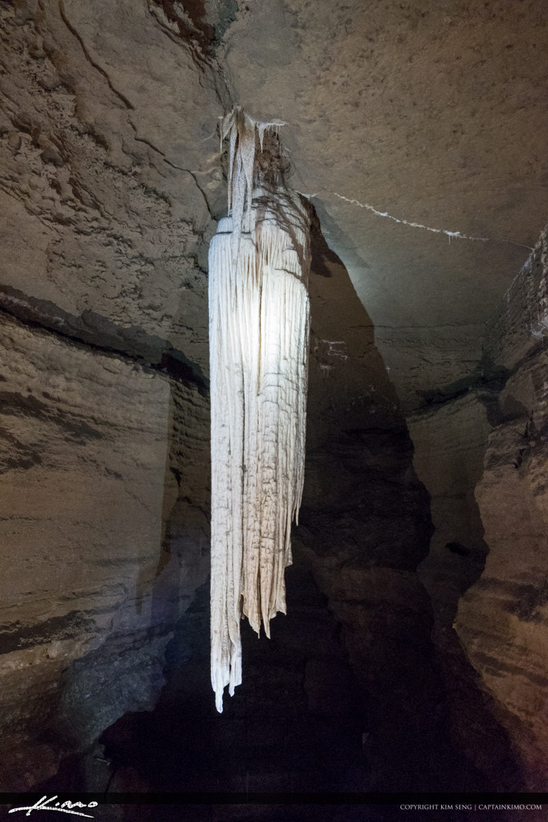 Largest Stalactite at the Doolin Cave Doolin Ireland