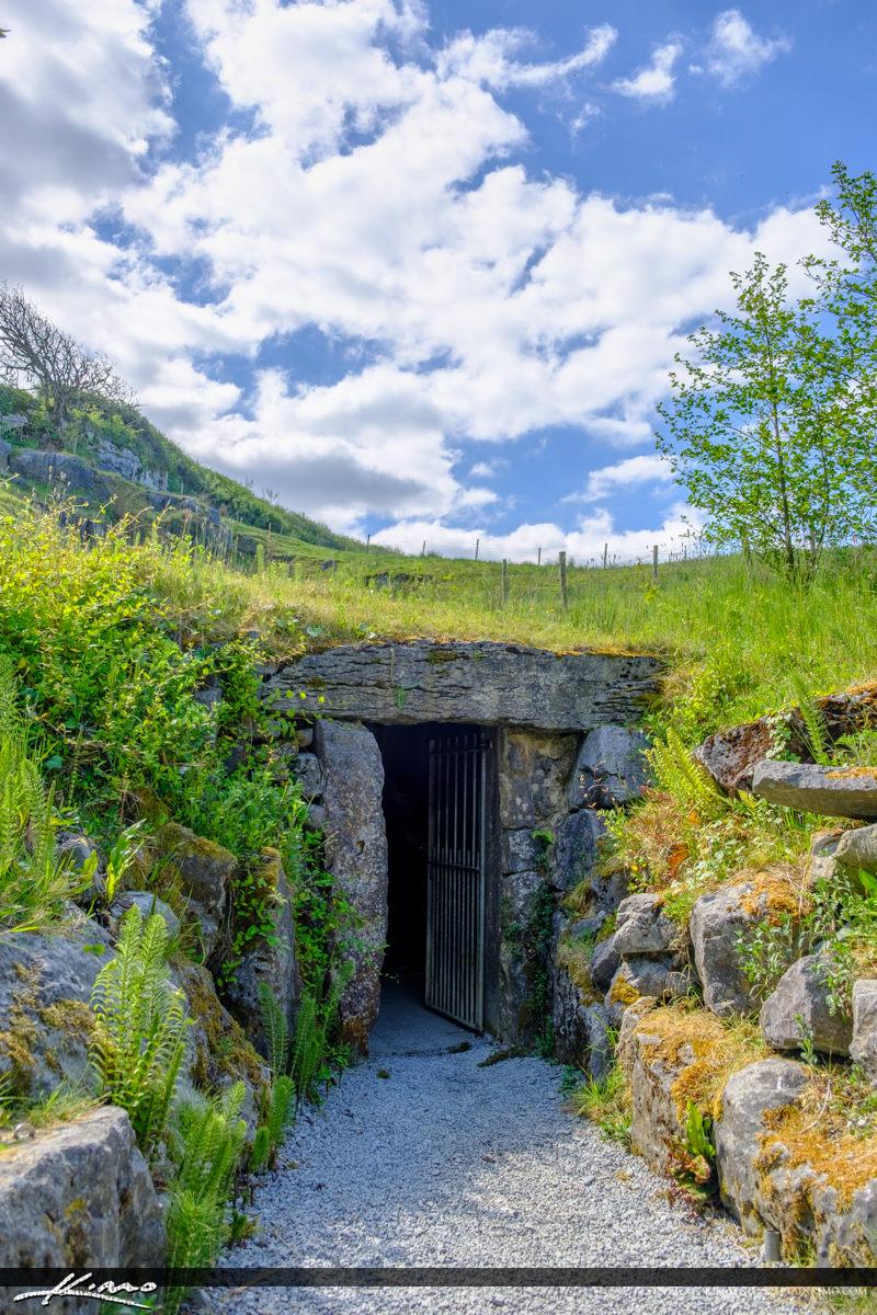 Vertical Entrance to Doolin Cave Doolin Ireland