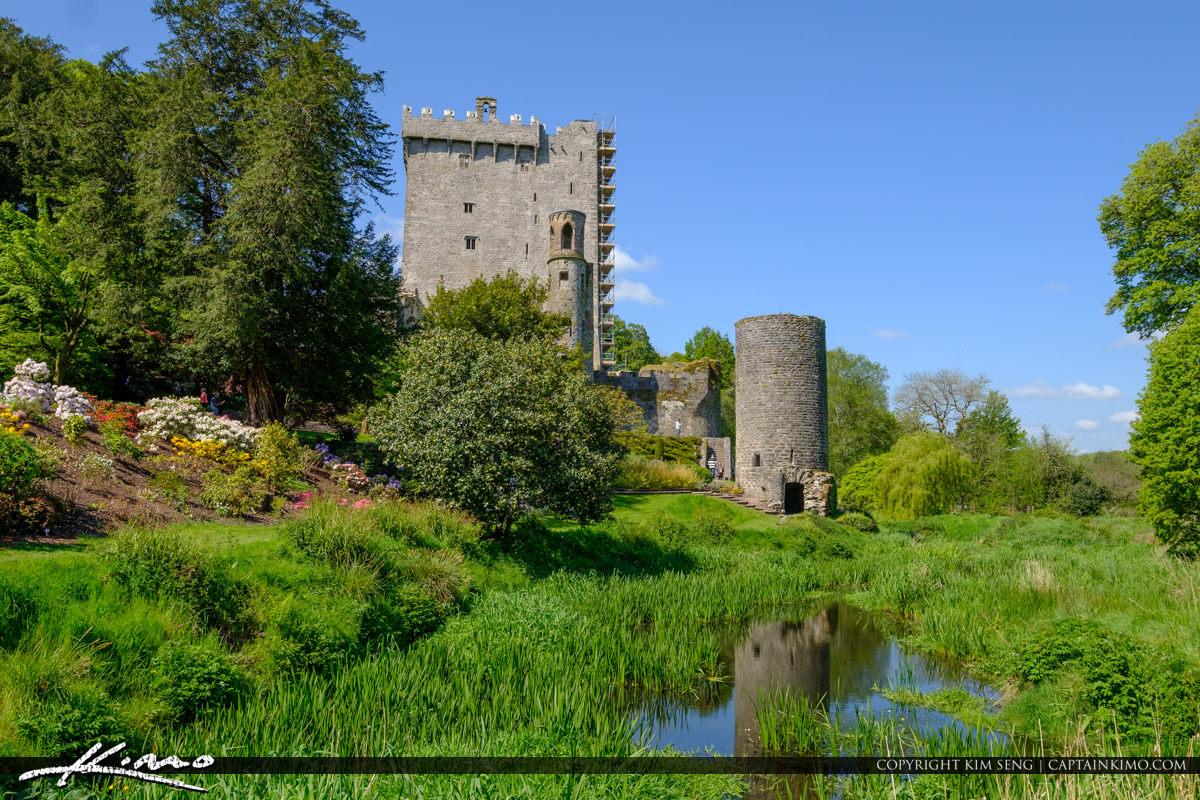 Blarney Stone Cork Ireland Castle at Garden