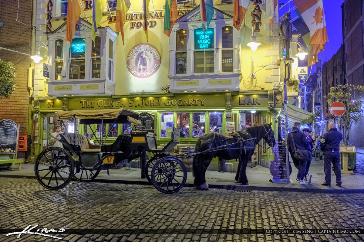 Horse Carraige Dublin Republic of Ireland