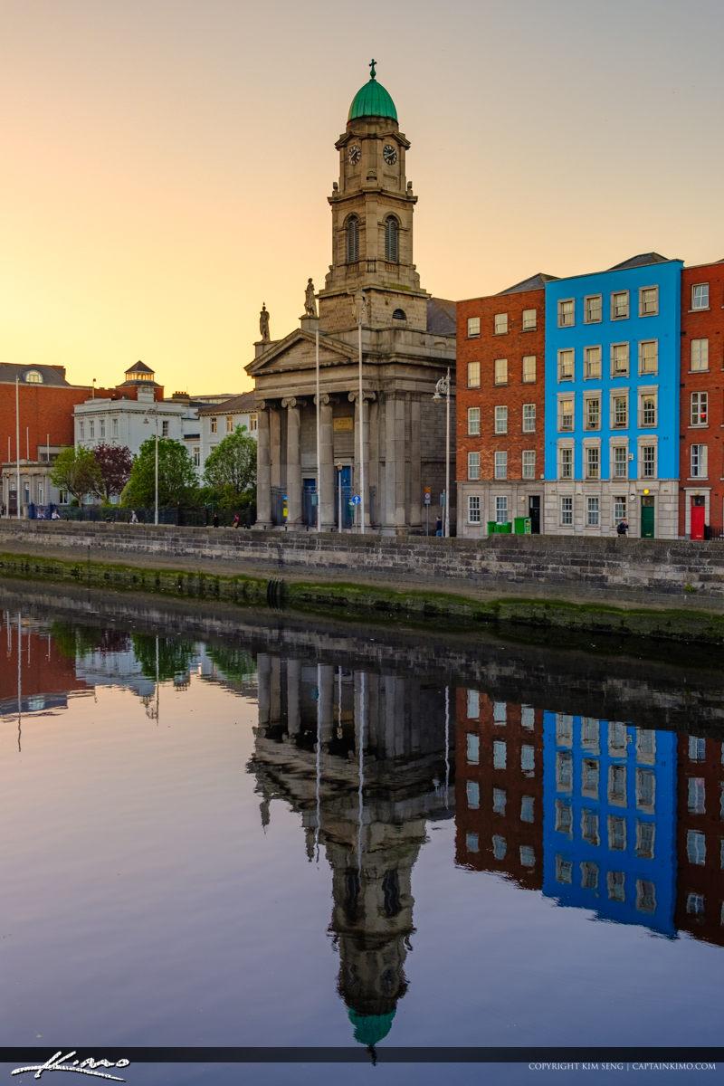 Saint Pauls Church River Liffey Dublin