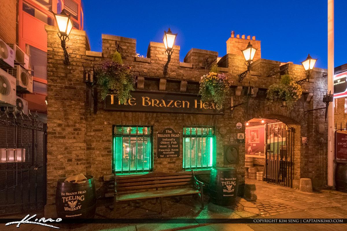 The Brazen Head  Dublin Pub Ireland Since 1198