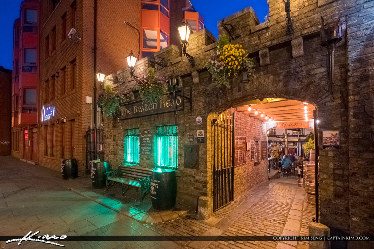 The Brazen Head  Dublin Pub Ireland Since 1198 Old Irish Pub