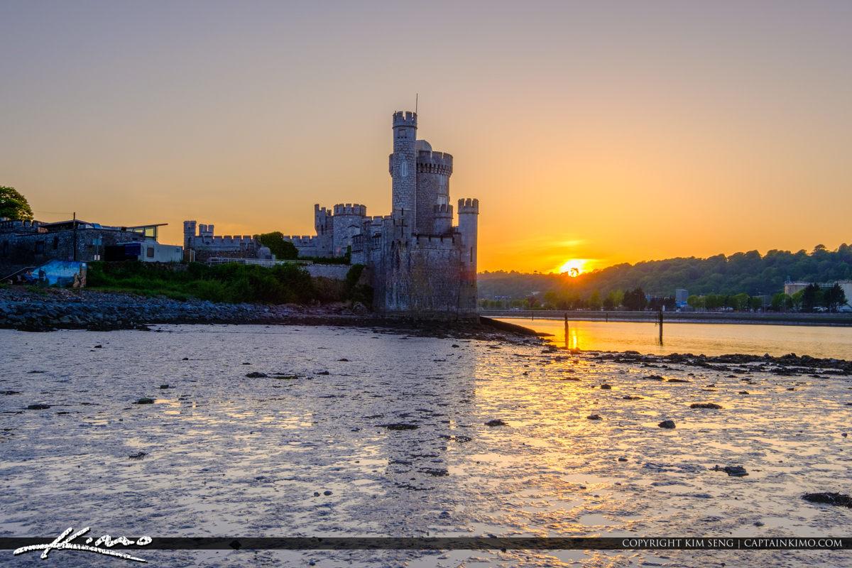 Blackrock Castle Cork Ireland Lowtide at River Lee